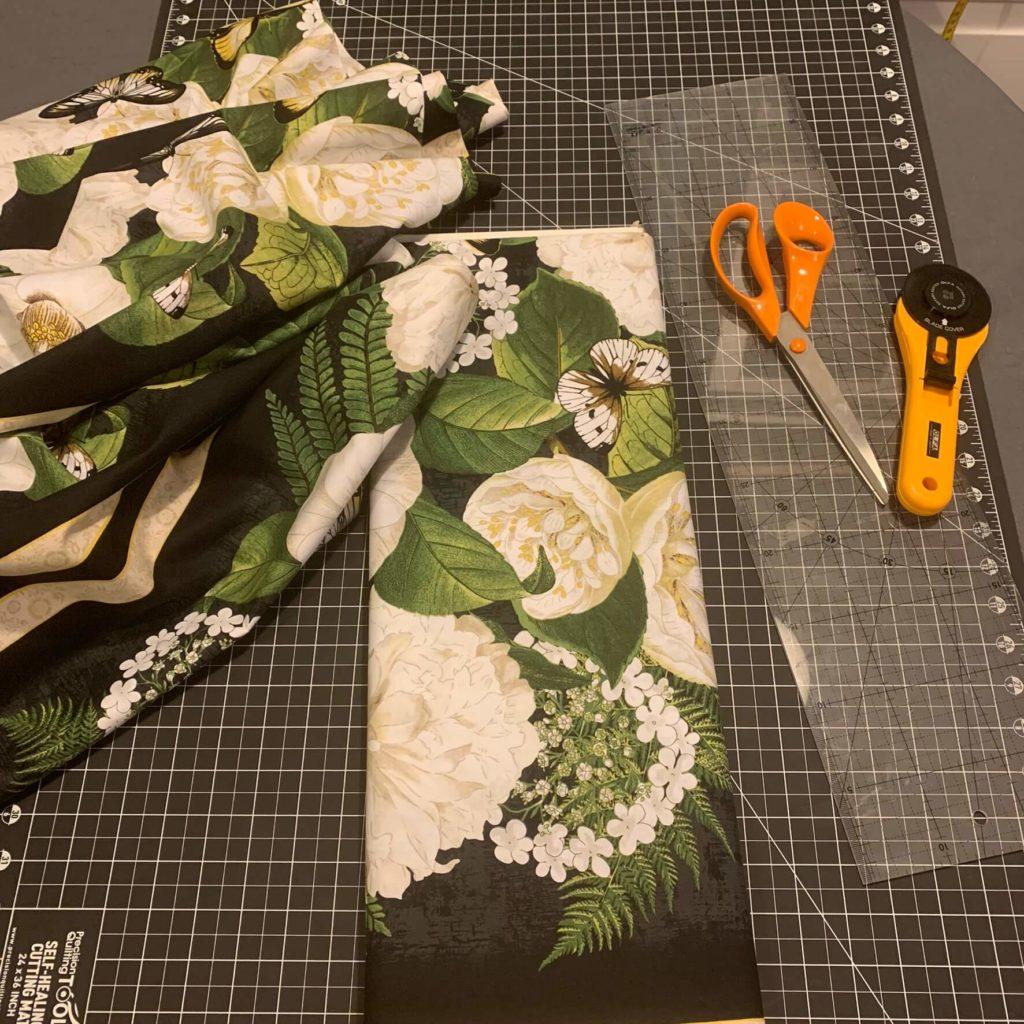 Fractured quilt cięcie paneli